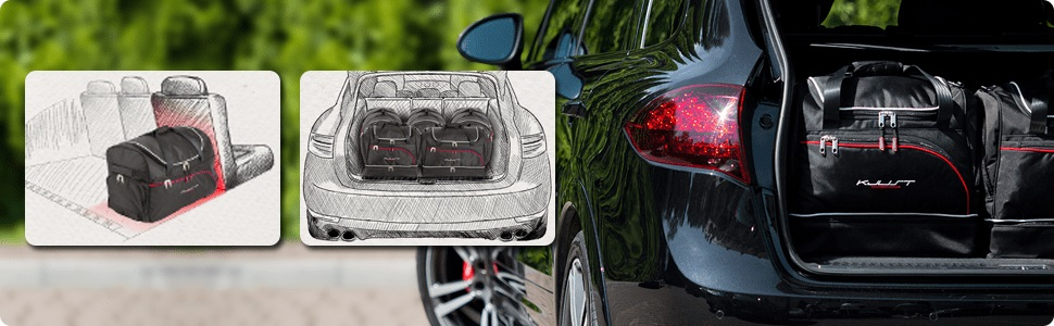banner dedicated car bag sets the trunk