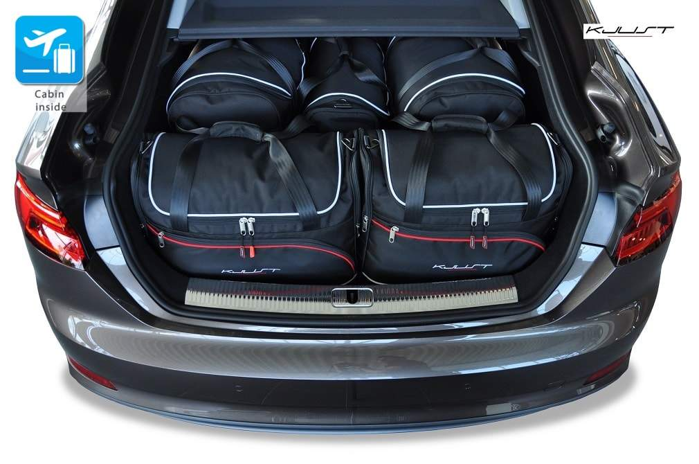 kjust audi a5 sportback 2016 car bags set 5 pcs select. Black Bedroom Furniture Sets. Home Design Ideas