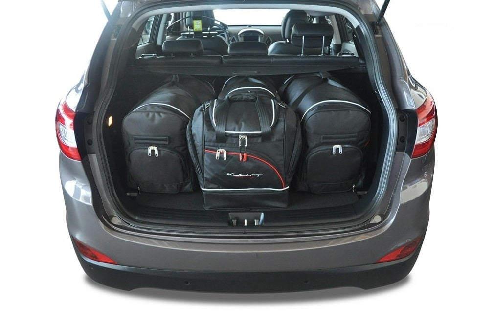 kjust hyundai ix35 2010 kofferraumtaschen set 4 stk autotaschen sets hyundai ix35 2010. Black Bedroom Furniture Sets. Home Design Ideas