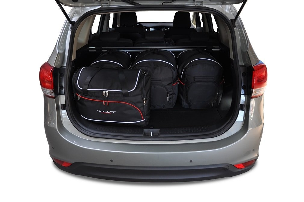 kjust kia carens 2013 kofferraumtaschen set 5 stk. Black Bedroom Furniture Sets. Home Design Ideas