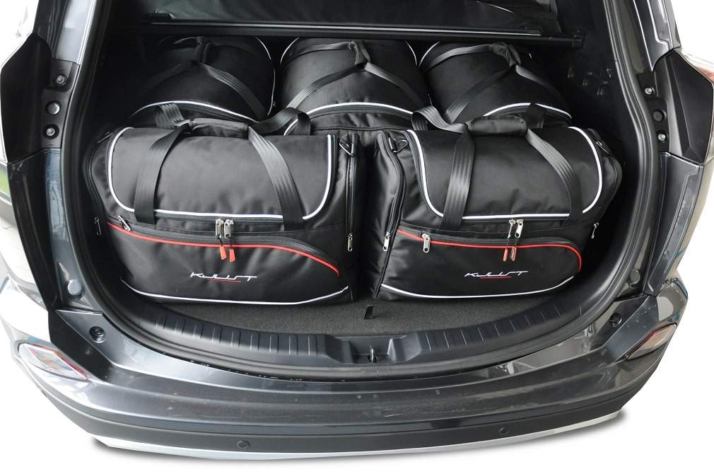 kjust toyota rav4 hybrid 2013 kofferraumtaschen set 5 stk. Black Bedroom Furniture Sets. Home Design Ideas