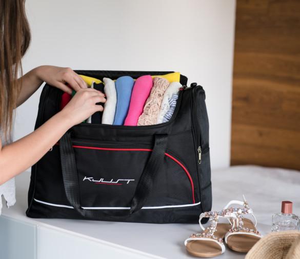 Flugtasche leicht zu packen