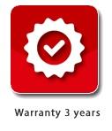 warranty 3 year