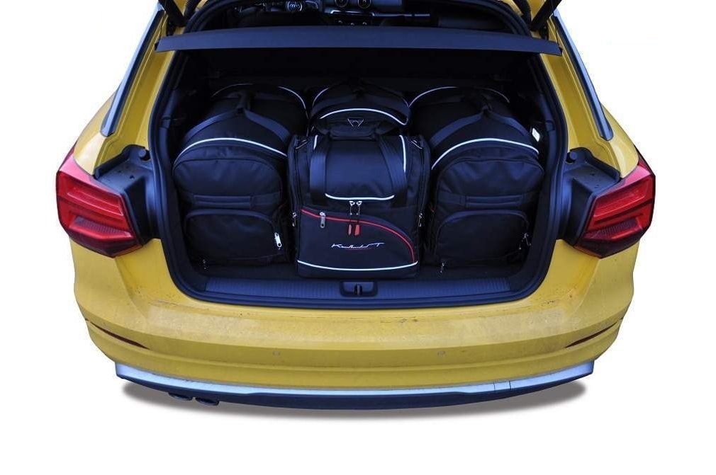 AUDI Q2 2016 CAR BAGS SET 4 PCS