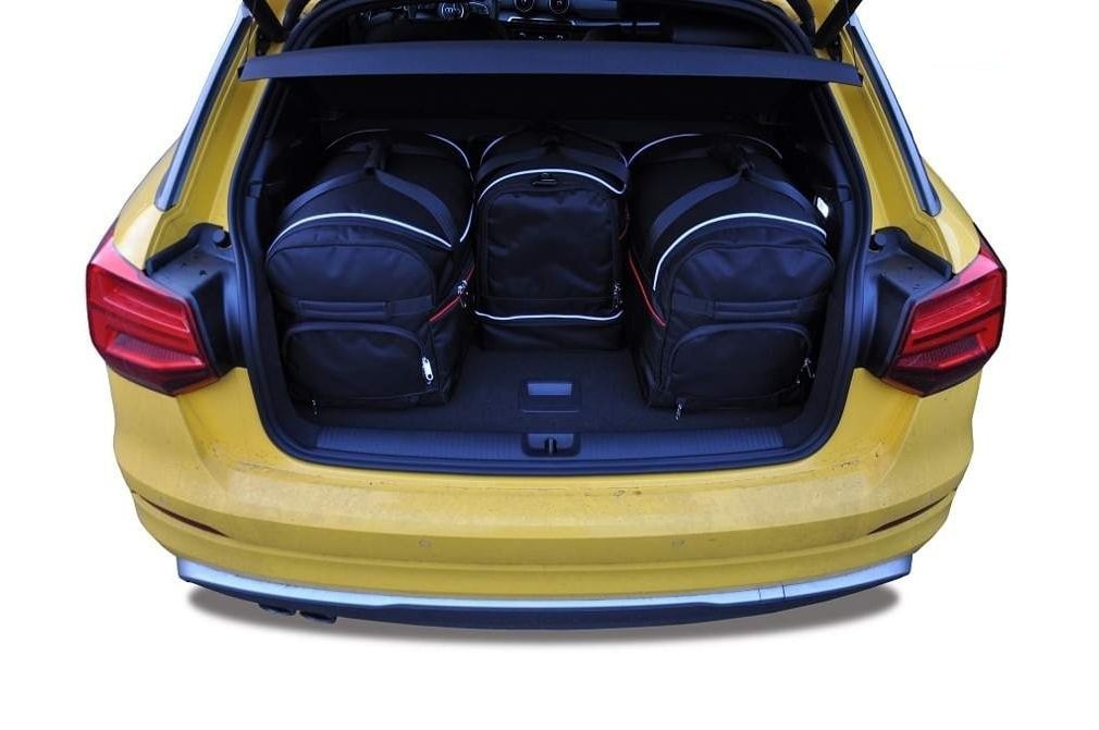 kjust audi q2 2016 car bags set 4 pcs select car bags. Black Bedroom Furniture Sets. Home Design Ideas