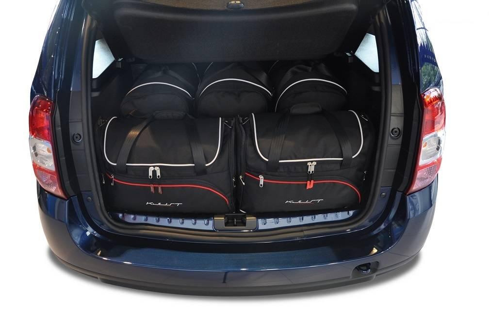 DACIA DUSTER 2010 2017 CAR BAGS SET 5 PCS