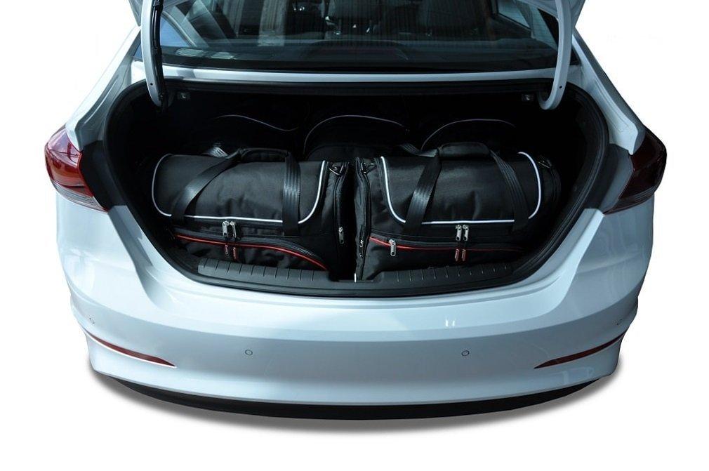 COTTON BACKPACK HYUNDAI ELANTRA 2016 CAR BAGS SET 5 PCS