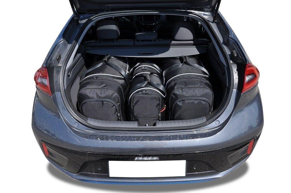 kjust hyundai ioniq electric 2014 car bags set 4 pcs. Black Bedroom Furniture Sets. Home Design Ideas