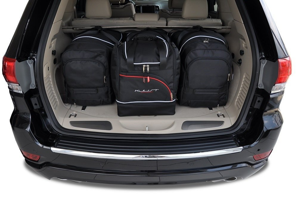 JEEP GRAND CHEROKEE 2010 CAR BAGS SET 4 PCS