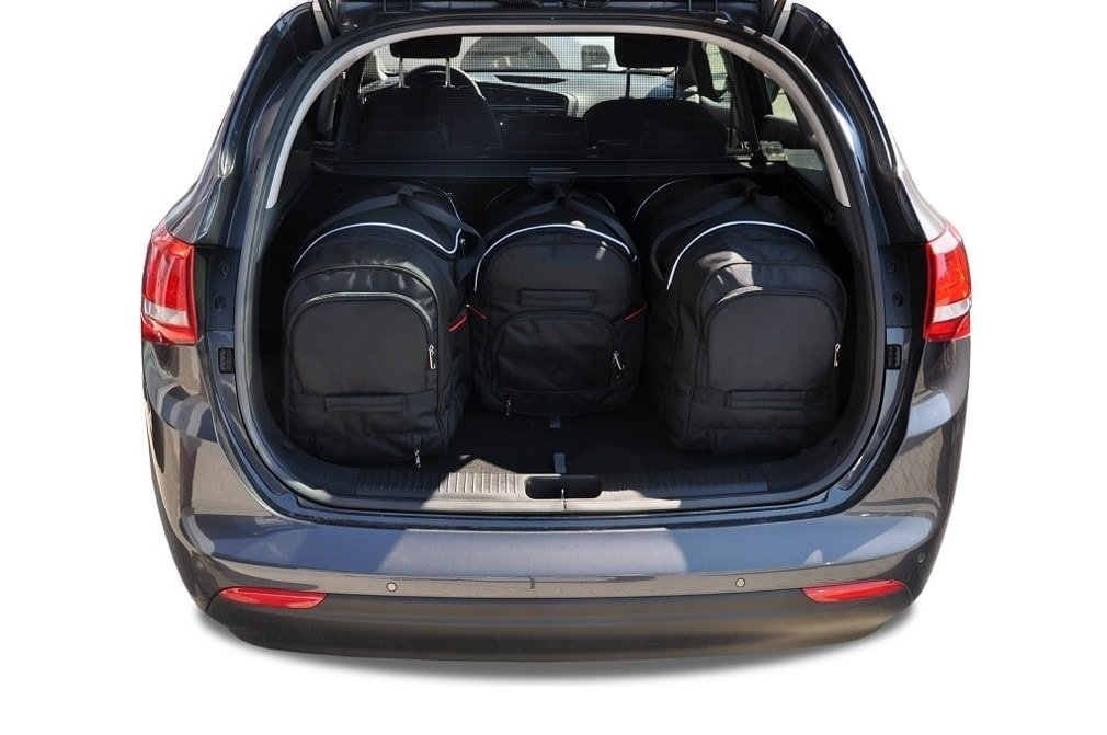 kjust kia ceed kombi 2012 car bags set 4 pcs select car bags set kia cee d kombi ii. Black Bedroom Furniture Sets. Home Design Ideas