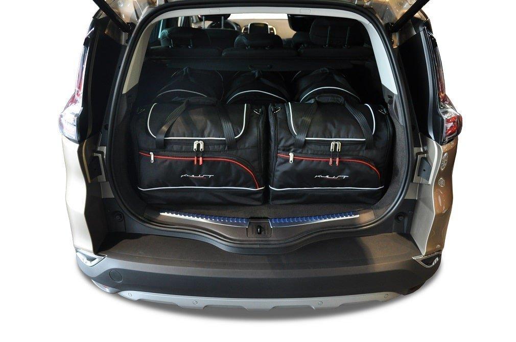 kjust renault espace initiale 2014 car bags set 5 pcs select car bags set renault espace. Black Bedroom Furniture Sets. Home Design Ideas