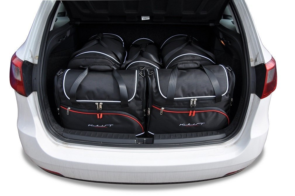 kjust seat ibiza st 2010 2016 car bags set 5 pcs select car bags set seat ibiza st kombi. Black Bedroom Furniture Sets. Home Design Ideas