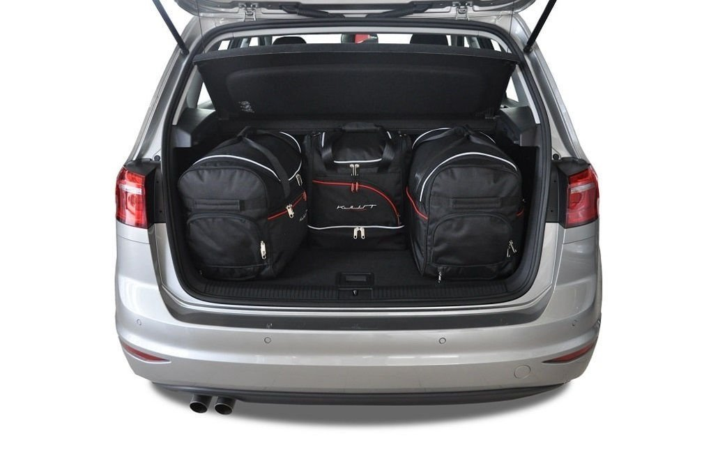 Kjust Vw Golf Sportsvan 2013 Car Bags Set 4 Pcs Select