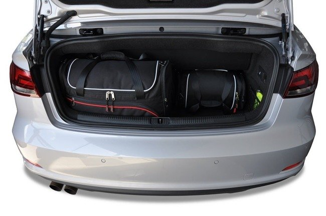 AUDI A3 CABRIO 2014-2016 CAR BAGS SET 4 PCS
