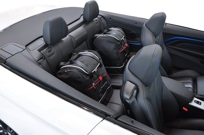 BMW 4 CABRIO, 2013- CAR BAGS SET 3 PCS