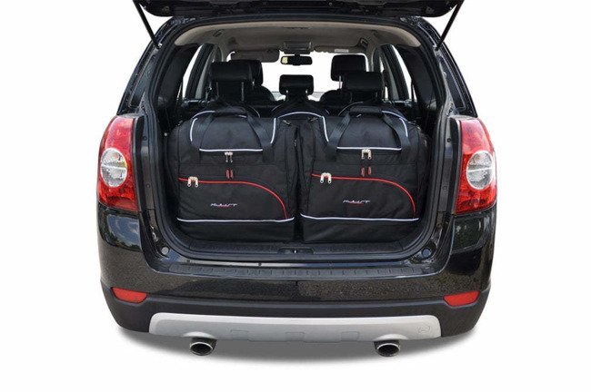 CHEVROLET CAPTIVA 2006-2010 CAR BAGS SET 5 PCS