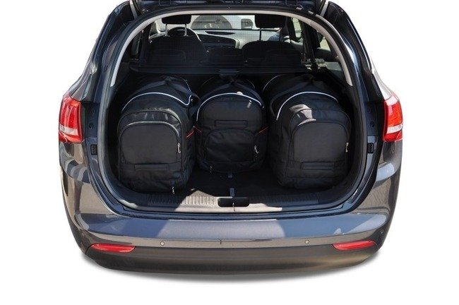 KIA CEED KOMBI, 2012- CAR BAGS SET 4 PCS