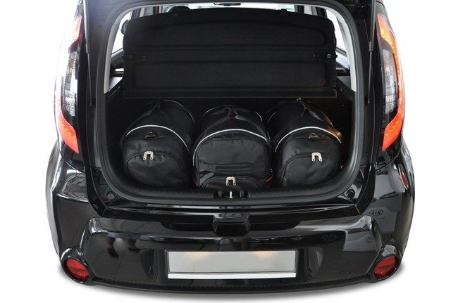 KIA SOUL 2014+ CAR BAGS SET 3 PCS