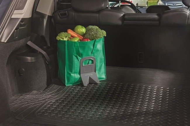 LUGGAGE COMPARTMENT TRUNK ORGANIZER STAYHOLD RUBBER  SMALL