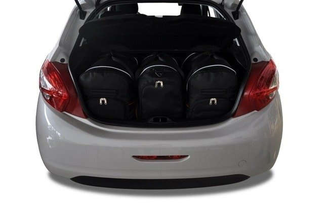 PEUGEOT 208 HATCHBACK 2012+ CAR BAGS SET 3 PCS