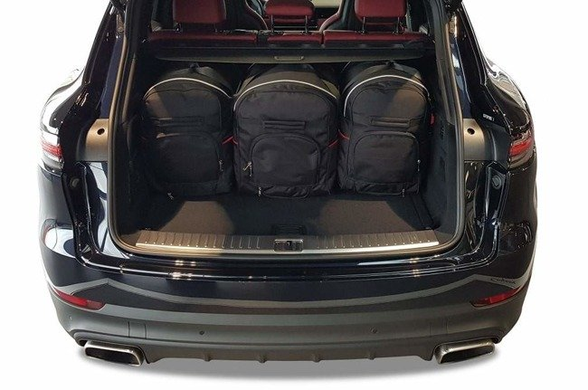 PORSCHE CAYENNE 2017+ CAR BAGS SET 5 PCS
