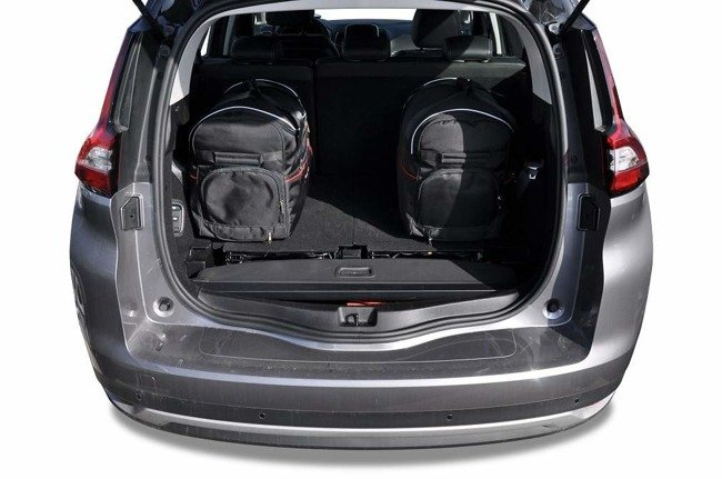 RENAULT GRAND SCENIC 2016+ CAR BAGS SET 5 PCS