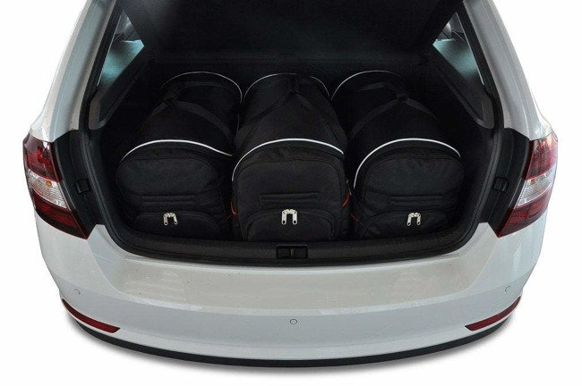 SKODA RAPID SPACEBACK 2012+ CAR BAGS SET 3 PCS