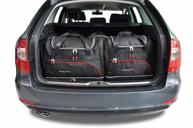 SKODA SUPERB KOMBI 2008-2015 CAR BAGS SET 5 PCS