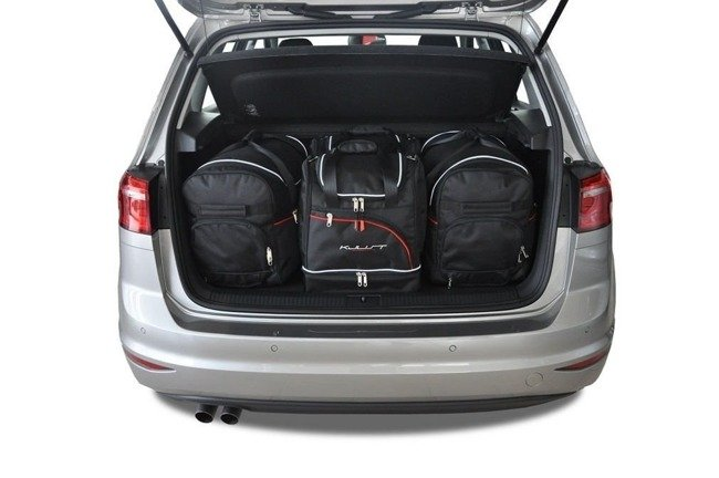 VW GOLF SPORTSVAN 2013+ CAR BAGS SET 4 PCS