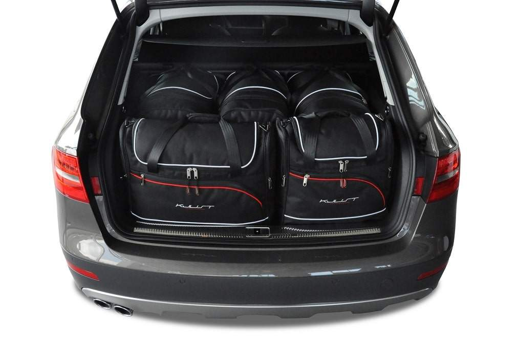 kjust audi a4 avant 2008 2015 kofferraumtaschen set 5 stk autotaschen sets audi a4 avant. Black Bedroom Furniture Sets. Home Design Ideas