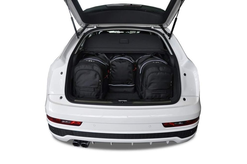 kjust audi q3 2011 kofferraumtaschen set 4 stk. Black Bedroom Furniture Sets. Home Design Ideas