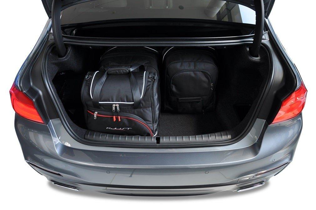 kjust bmw 5 limousine 2017 kofferraumtaschen set 4 stk. Black Bedroom Furniture Sets. Home Design Ideas