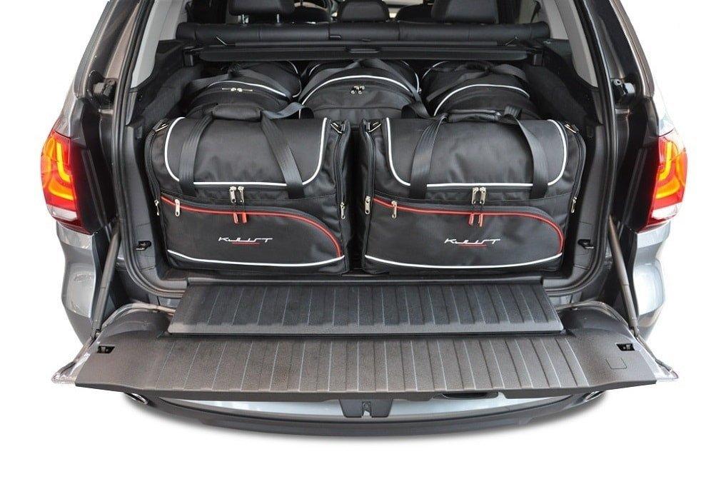 kjust bmw x5 2013 2018 kofferraumtaschen set 5 stk autotaschen sets bmw x5 f15 2013. Black Bedroom Furniture Sets. Home Design Ideas