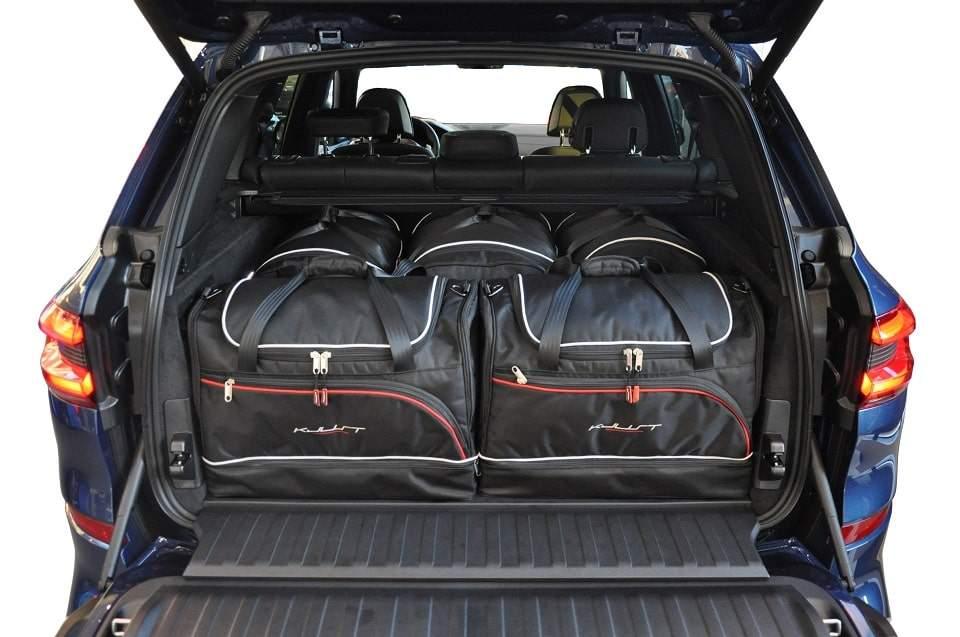 kjust bmw x5 2018 kofferraumtaschen set 5 stk autotaschen sets bmw x5 g05 2018. Black Bedroom Furniture Sets. Home Design Ideas