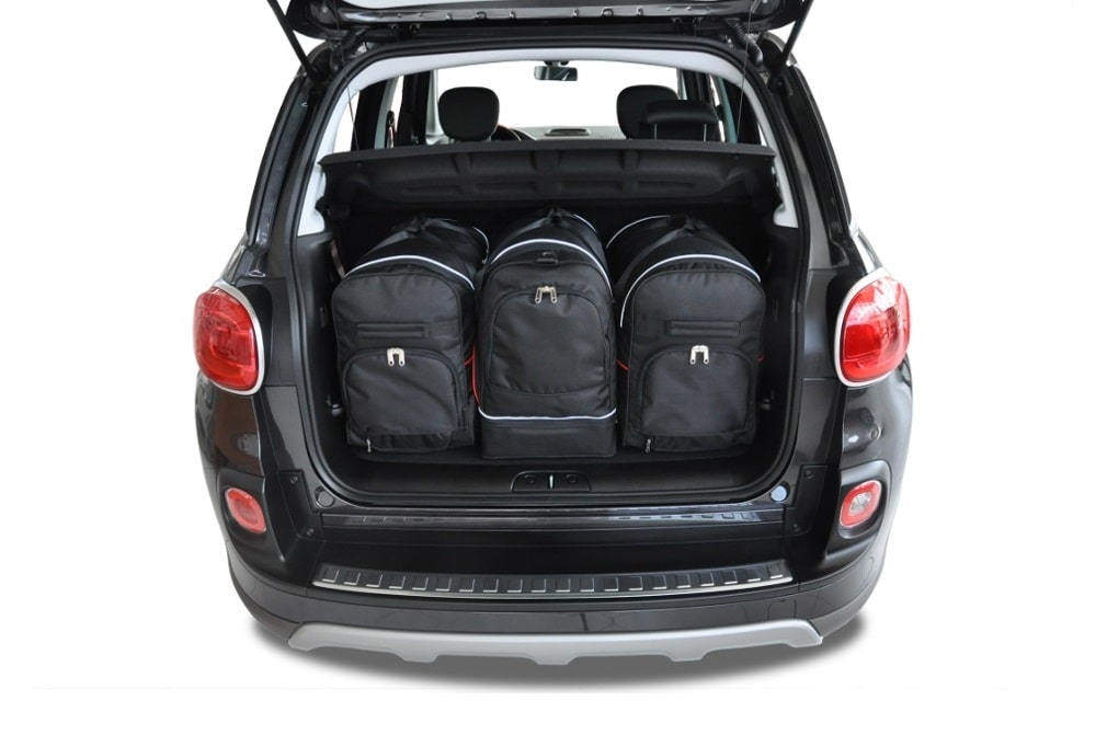 kjust fiat 500l 2012 autotaschen set 3 stk. Black Bedroom Furniture Sets. Home Design Ideas