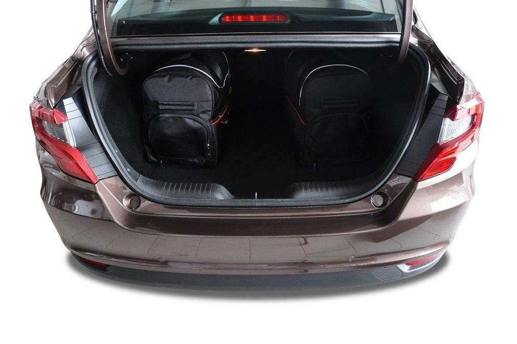 kjust fiat tipo limousine 2015 autotaschen set 5 stk. Black Bedroom Furniture Sets. Home Design Ideas