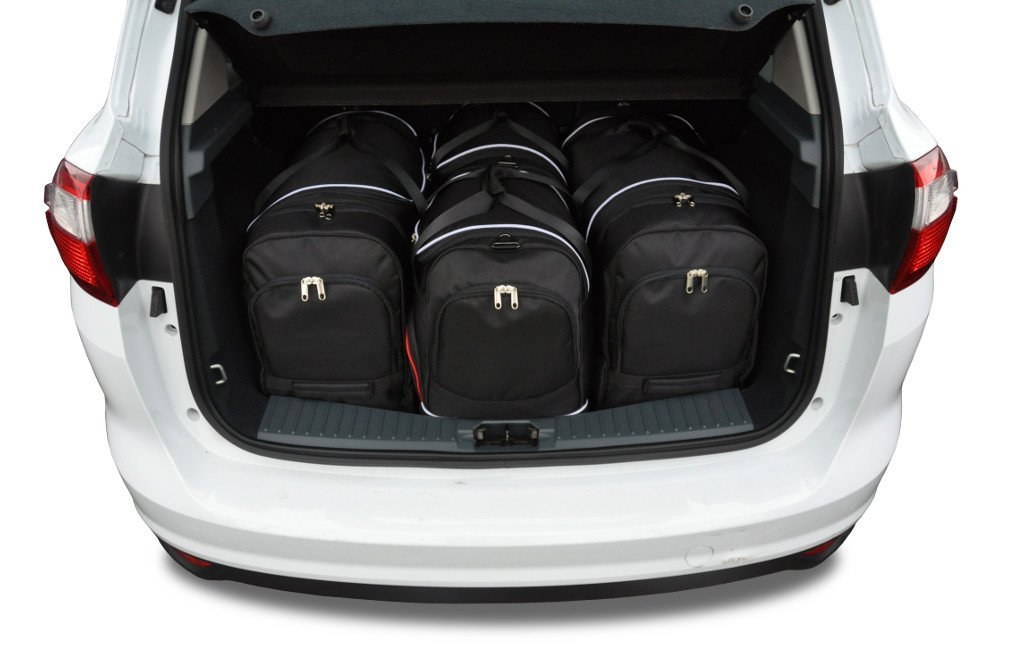 Kjust Ford C Max 2010 Kofferraumtaschen Set 4 Stk Autotaschen