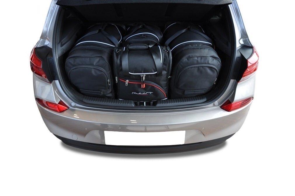 kjust hyundai i30 hatchback 2017 kofferraumtaschen set 4. Black Bedroom Furniture Sets. Home Design Ideas