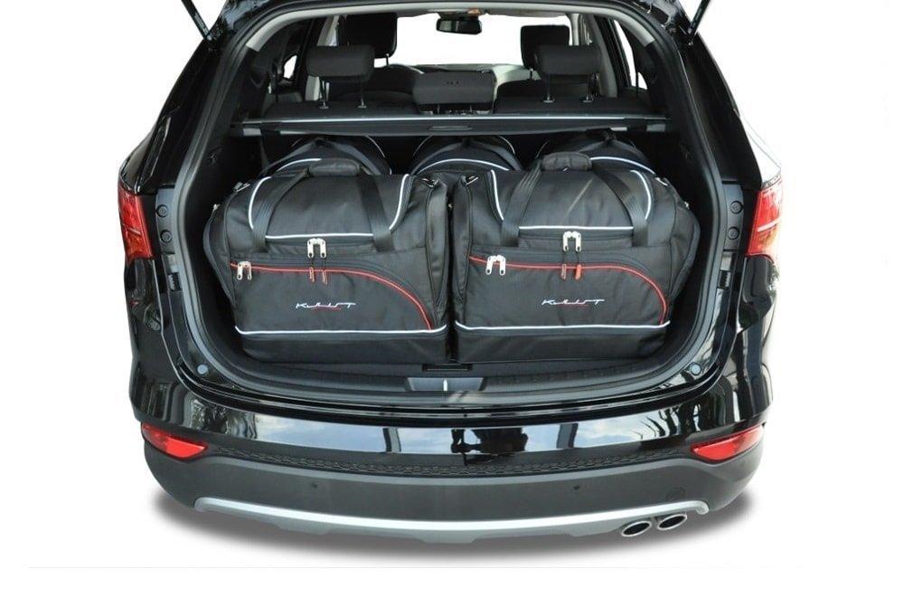 kjust hyundai santa fe 2012 kofferraumtaschen set 5 stk. Black Bedroom Furniture Sets. Home Design Ideas