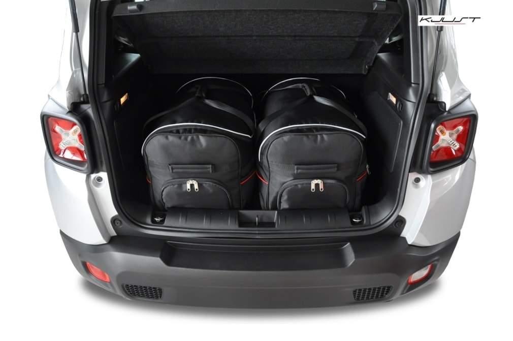 kjust jeep renegade 2014 kofferraumtaschen set 2 stk. Black Bedroom Furniture Sets. Home Design Ideas