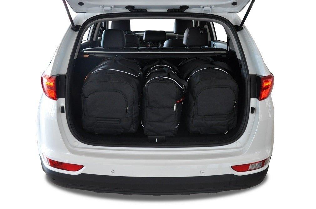 kjust kia sportage 2016 kofferraumtaschen set 4 stk. Black Bedroom Furniture Sets. Home Design Ideas