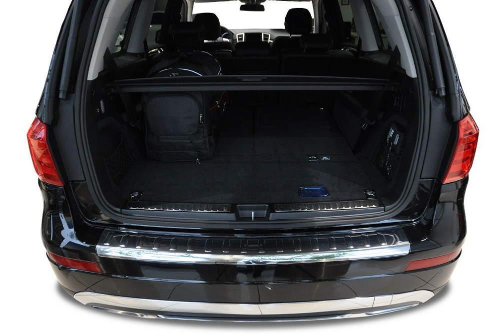 Kjust Mercedes Gl 2012 Kofferraumtaschen Set 5 Stk