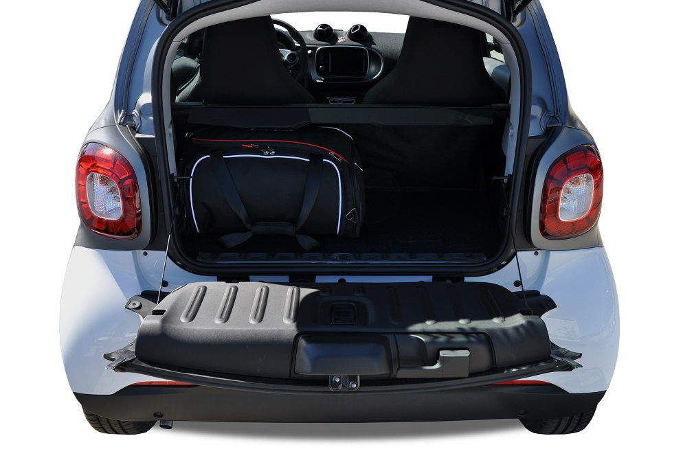 kjust smart fortwo coupe 2014 kofferraumtaschen set 2 stk autotaschen sets smart fortwo. Black Bedroom Furniture Sets. Home Design Ideas