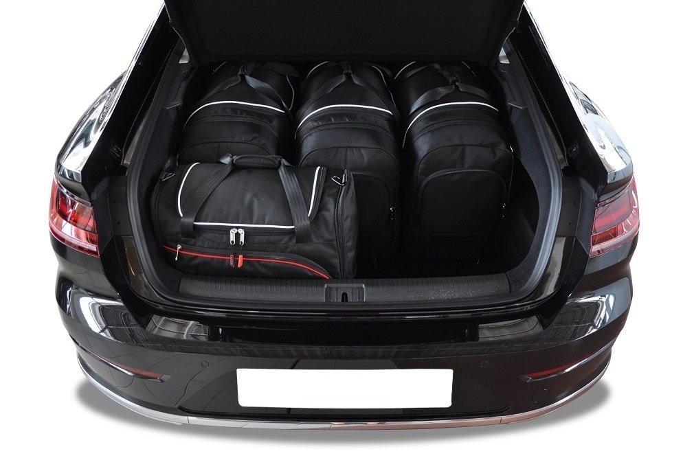 kjust vw arteon 2017 kofferraumtaschen set 5 stk. Black Bedroom Furniture Sets. Home Design Ideas