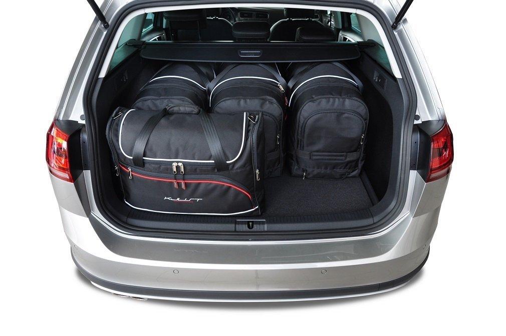 kjust vw golf variant 2013 kofferraumtaschen set 5 stk. Black Bedroom Furniture Sets. Home Design Ideas