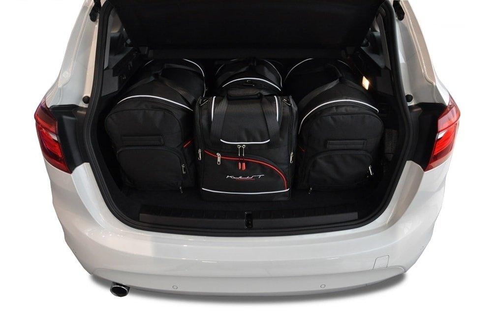 006d5df05 KJUST BMW 2 ACTIVE TOURER 2014+ CONJUNTO DE BOLSAS 4 PIE ...