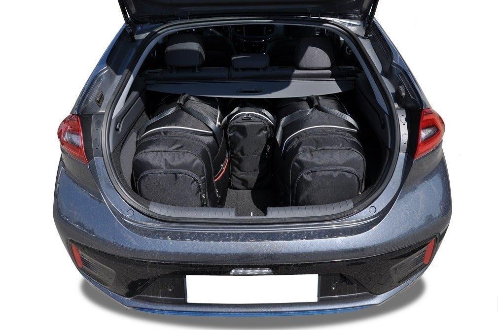 Bolso maletero auto bolso bolso de accesorios en negro adecuado para Hyundai